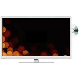 BSH 32in HD Ready LED TV DVD Combi White With Freeview