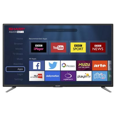 Sharp LC32CHE6131K LED 32 Inch Smart WiFi HD Ready Freeview HD