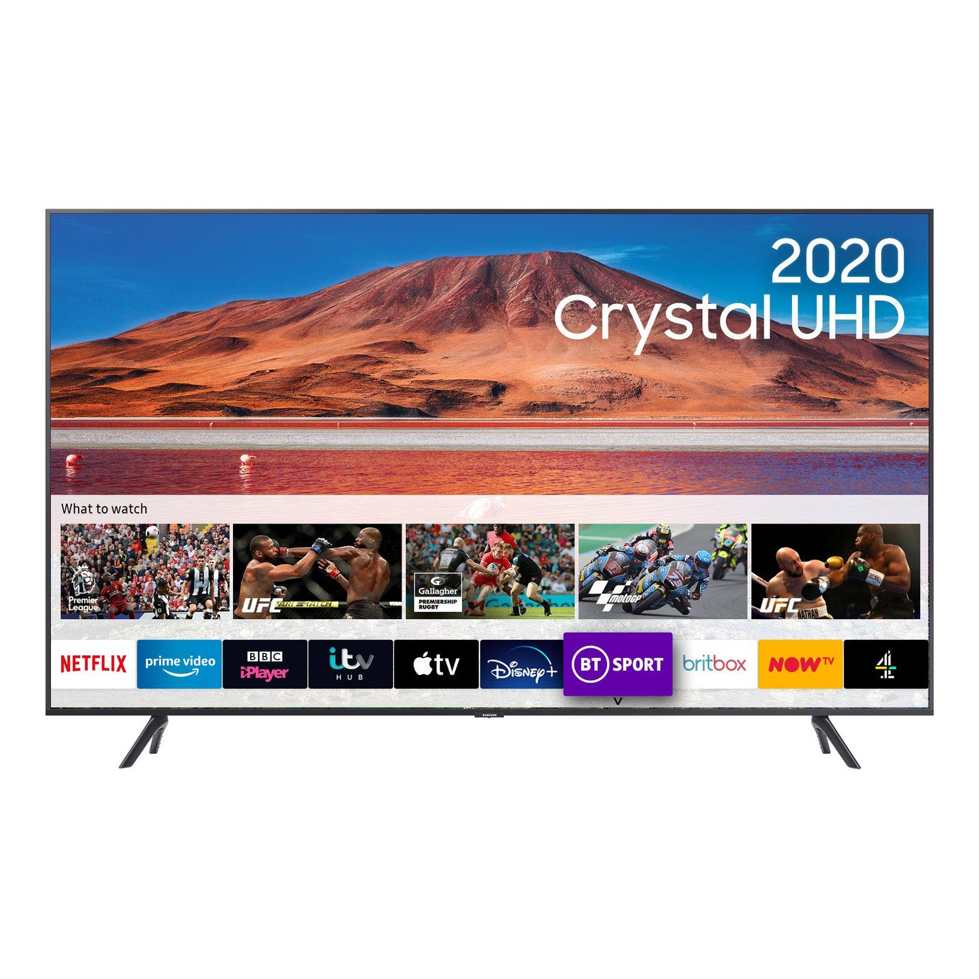 Samsung UE70TU7100KXXU 70 Inch Smart 4K Ultra HD HDR LED TV