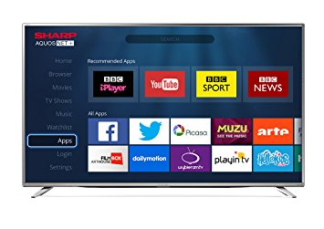 Sharp LC49CFE6241K LED 49 Inch Full HD 1080p Smart Freeview HD