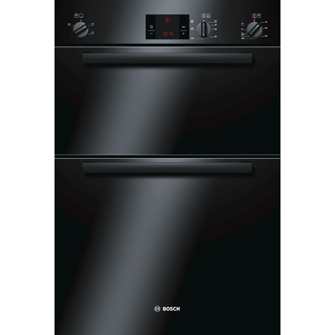 Bosch HBM13B160B Classixx Electric Built In Double Oven Black