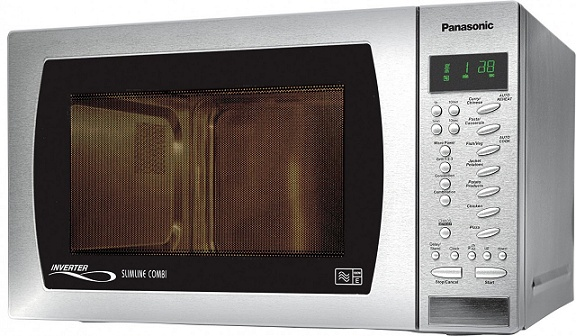 Panasonic NNCT579S Microwave 27 Litre 1000W Stainless Steel