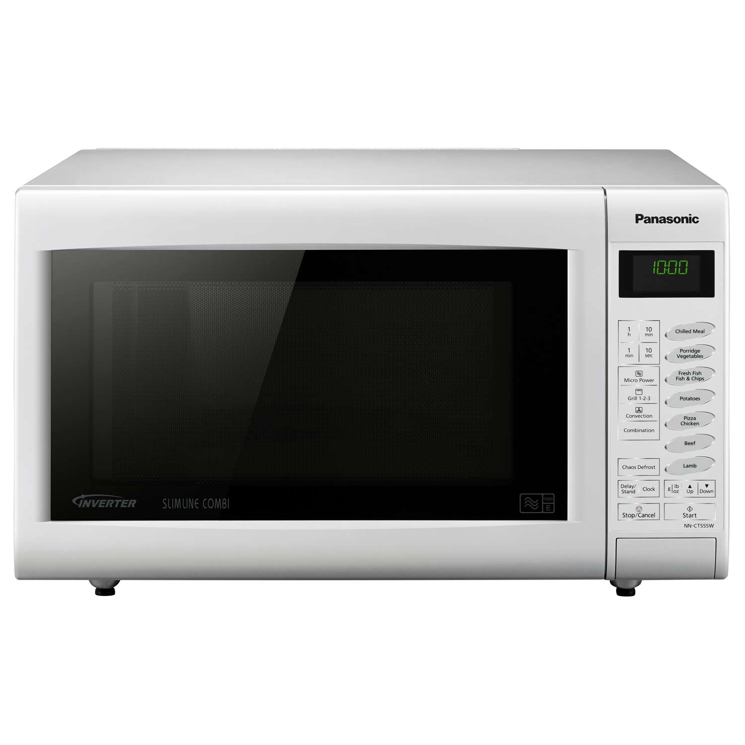 Panasonic NNCT555WBPQ Microwave Oven 1000W 27L White Combination