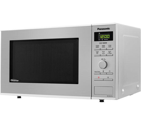 Panasonic NNSD27HSBPQ Solo Microwave Stainless Steel 1000W