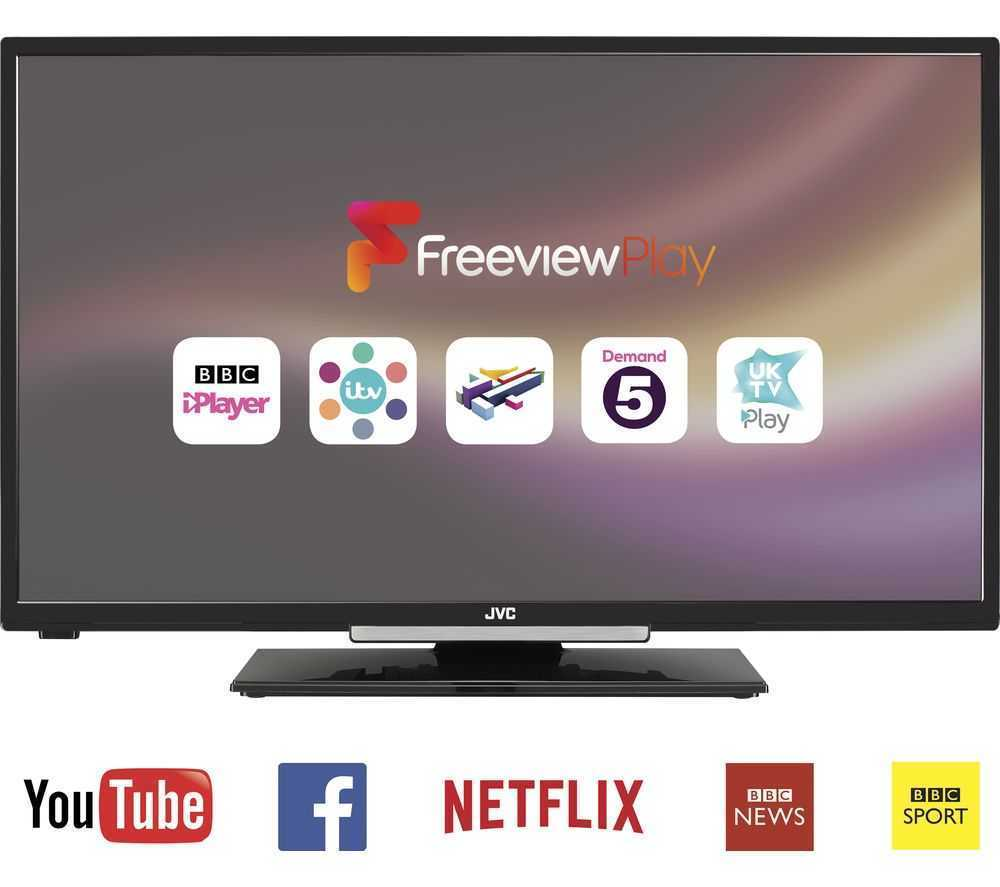 LG 49LF510V 49 Inch Full HD Black LED TV With Freeview HD