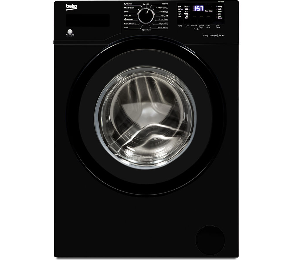 Beko WX842430B Washing Machine Black 8kg 1400Rpm