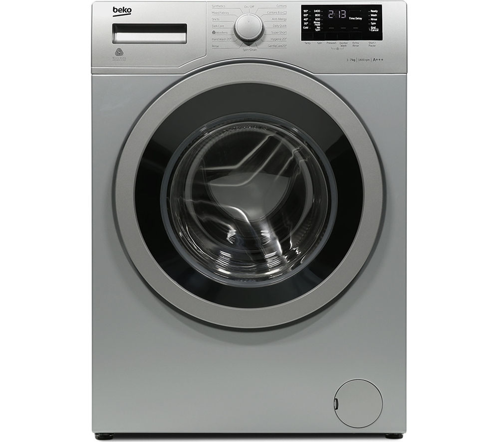 Beko WX742430S Washing Machine Silver 1400Rpm 7kg