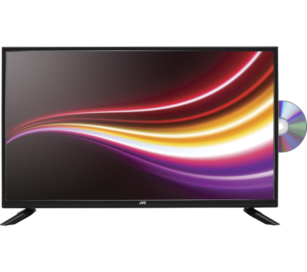 JVC LT32C365 32 Inch LED TV with Built In DVD Player