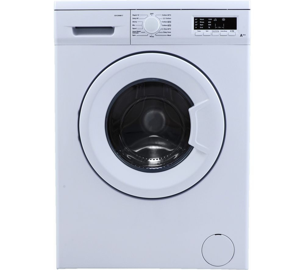 Washing Machines Electronic Empire Low Price Electricals Led Indesit Machine Motor Wiring Diagram Essentials C612wm17 6 Kg 1200 Spin White