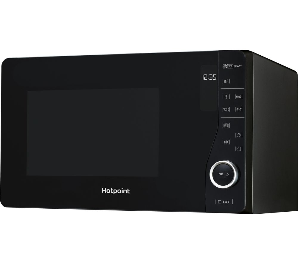 Hotpoint MWH2621MB Solo Microwave Black 800w 25 Litre