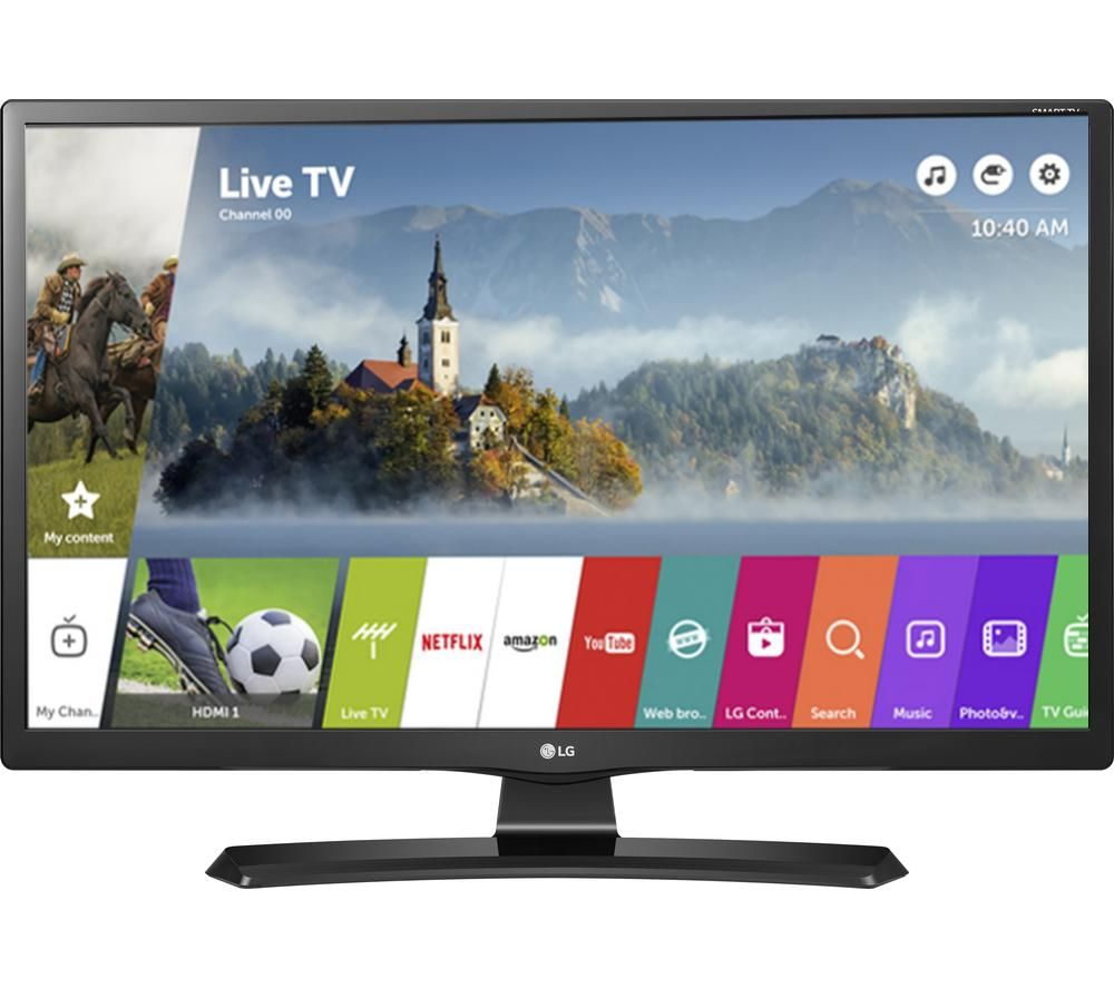 LG 24MT49S 24 Inch Smart LED TV With Freeview HD And Freesat HD