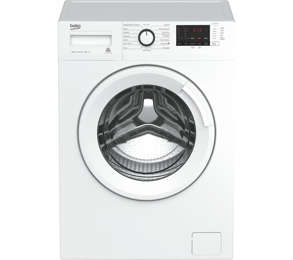 Beko WTB841R2W 8 kg 1400 Spin Washing Machine White