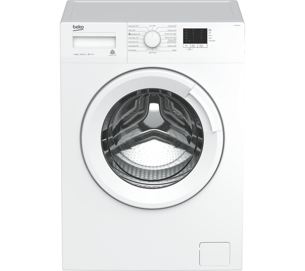 Beko WTB820E1W 8 kg 1200 Spin Washing Machine White
