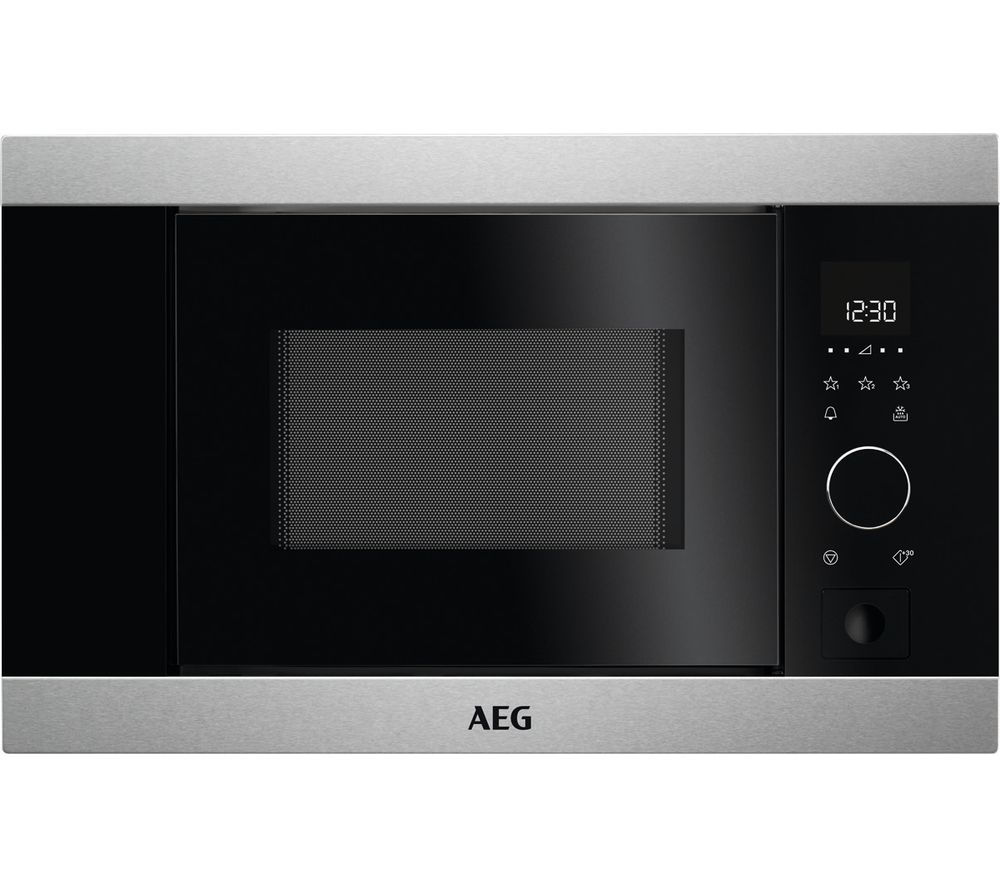 AEG MBB1756SM Built in Solo Microwave Black