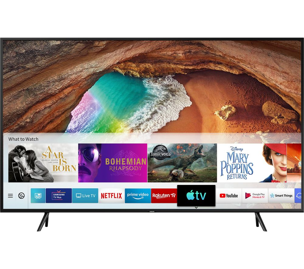 Samsung QE55Q60RATXXU 55 Inch Smart 4K Ultra HD HDR QLED TV