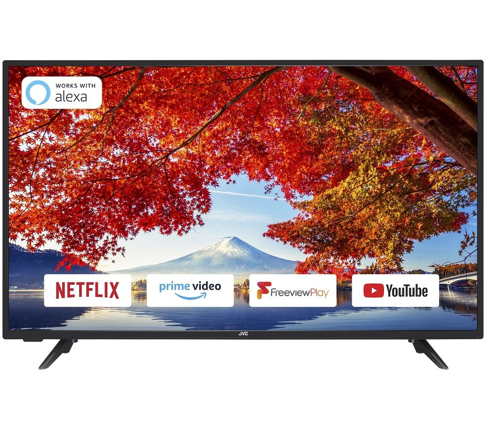 JVC LT40C700 40 Inch Smart Full HD LED TV With Freeview Play