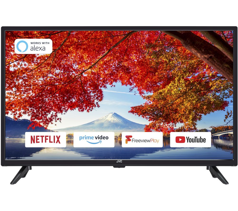 JVC LT32C600 32 Inch Smart HD Ready LED TV