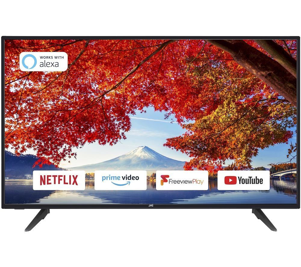JVC LT43C700 43 Inch Smart Full HD LED TV With Freeview Play